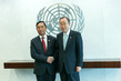 Secretary-General Meets Speaker of Myanmar Parliament