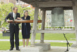 Ceremony for Return of Peace Bell to Japanese Garden 4.417043