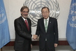 Secretary-General Meets Vice President of IFRC