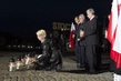 Candle Light Ceremony at Monument of Fallen Shipyard Workers, Gdansk 4.4183445