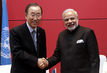 Secretary-General Meets Prime Minister of India 1.0
