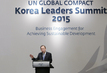 Opening Ceremony of UN Global Compact Korea Leaders Summit, Seoul 4.5971212