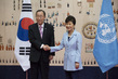 Secretary-General Meets President of Republic of Korea 2.2851