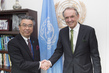Deputy Secretary-General Meets Vice Foreign Minister of Japan 0.6913922