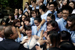 Secretary-General Greets Students and Young Diplomats of Viet Nam