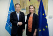 Secretary-General Meets EU High Representative for Foreign Affairs 1.0