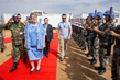 Inauguration of UNMISS Chinese Battalion Camp, Juba