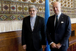 UN Envoy for Syria Meets Permanent Representative of Iran to UNOG 4.599567