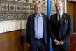 UN Envoy for Syria Meets Former Dean of University of Damascus 4.599567