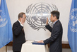 New Acting Chief of Disarmament Sworn In 7.2014513