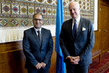 UN Envoy for Syria Meets Permanent Representative of Bahrain to UNOG