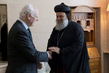 UN Envoy for Syria Meets Patriarch of Antioch 4.599567