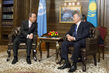 Secretary-General Meets President of Kazakhstan in Astana 1.0