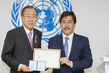 Secretary-General Receives Honorary Doctorate from Alfarabi Kazakh National University 0.13250832