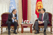 Secretary-General Meets Speaker of Kyrgyz Parliament 1.0