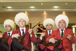 Young Men Playing Dutar at University in Ashgabat, Turkmenistan 0.12830064