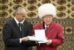 Secretary-General Receives Honorary Degree in Turkmenistan 0.10819259