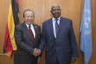Assembly President Meets Foreign Minister of Malaysia 3.230381