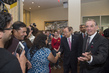 Secretary-General and Deputy Greet Visitors Touring UNHQ 1.3217142