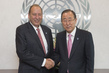 Secretary-General Meets Outgoing Head of Capital Master Plan 2.8530898