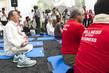 Secretary-General Celebrates International Day of Yoga 1.0