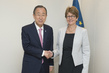 Secretary-General Meets President of Council of Europe Parliamentary Assembly 3.7383666