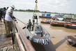 UNMISS Bangladesh Force Marine Unit Launching Riverine Operations, Juba 4.480654