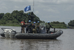 UNMISS Bangladesh Force Marine Unit Launching Riverine Operations, Juba