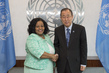Secretary-General Meets Environment Minister of South Africa 1.0