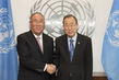 Secretary-General Meets Special Representative on Climate Change