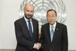 Secretary-General Meets Former President of Conference of Parties to UN Framework Convention on Climate Change 2.8507006