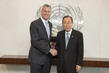 Secretary-General Meets New York City Mayor