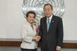 Secretary-General Meets Head of UNFCCC