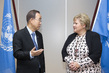Secretary-General Meets Prime Minister of Norway 0.85712355