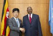 General Assembly President Meets Vice-Minister for Foreign Affairs of Japan