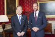 Secretary-General Meets Crown Prince Haakon
