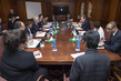Secretary-General Meets FFD3 Donor Representatives in Ethiopia 3.7407408