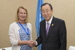 Secretary-General Meets Trade Minister of Finland in Addis Ababa 3.7420168