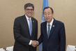 Secretary-General Meets United States Secretary of Treasury 3.7420168