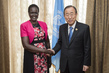 Secretary-General Meets Widow of Late Sudanese Leader 3.7420168
