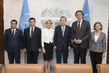 Secretary-General Meets Sponsors of Resolution for Tribunal on Malaysian Airlines Flight MH17 2.8529608