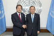 Secretary-General Meets Head of Republic of Korea Saenuri Party 2.8529608