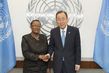 Secretary-General Meets Foreign Minister of Barbados 2.8529608