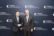 Secretary-General Meets Head of Carnegie Endowment for International Peace 3.7395608