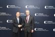 Secretary-General Meets Head of Carnegie Endowment for International Peace 3.7407408