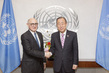 Secretary-General Meets Foreign Minister of Argentina 2.8526282