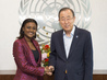 Secretary-General Meets President of Pan African Youth Union 2.8526282