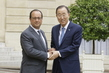 Secretary-General Meets President of France 1.0