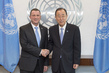 Secretary-General Meets Speaker of Israeli Knesset 2.8526282