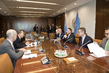 Secretary-General Meets Speaker of Israeli Knesset